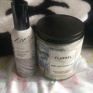 BBW candle/room spray bundle